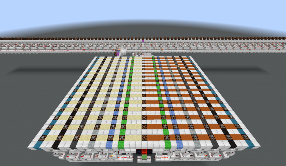A Turing Machine built in the virtual world of Minecraft