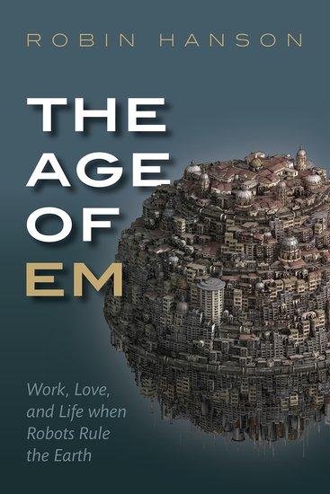 The Age of Em - book cover